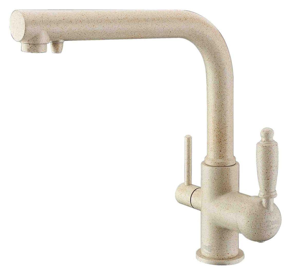 Смеситель Zorg Clean Water ZR 313 YF-33 кварц для кухонной мойки (ZR 313 YF-33 КВАРЦ) - купить от 6 929 рублей в интернет магазине santehnika-room.ru
